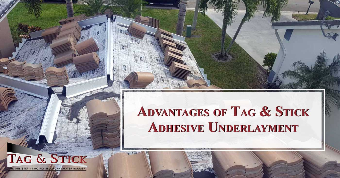 Advantages of Tag & Stick Adhesive Underlayment