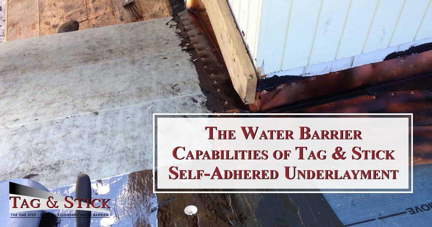 Self-Adhered Underlayment