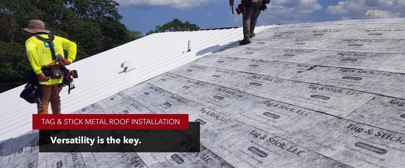 versatile roofing underlayment