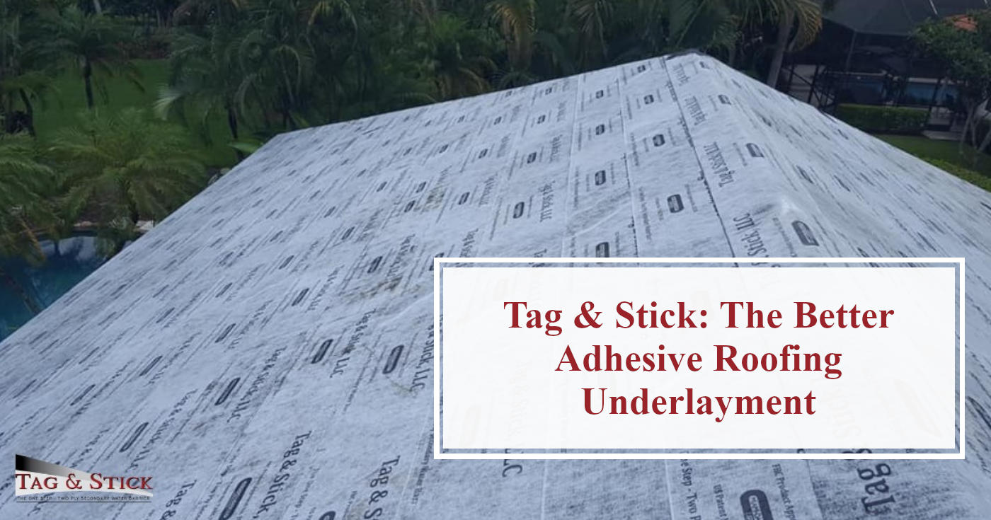 Adhesive Roofing Underlayment