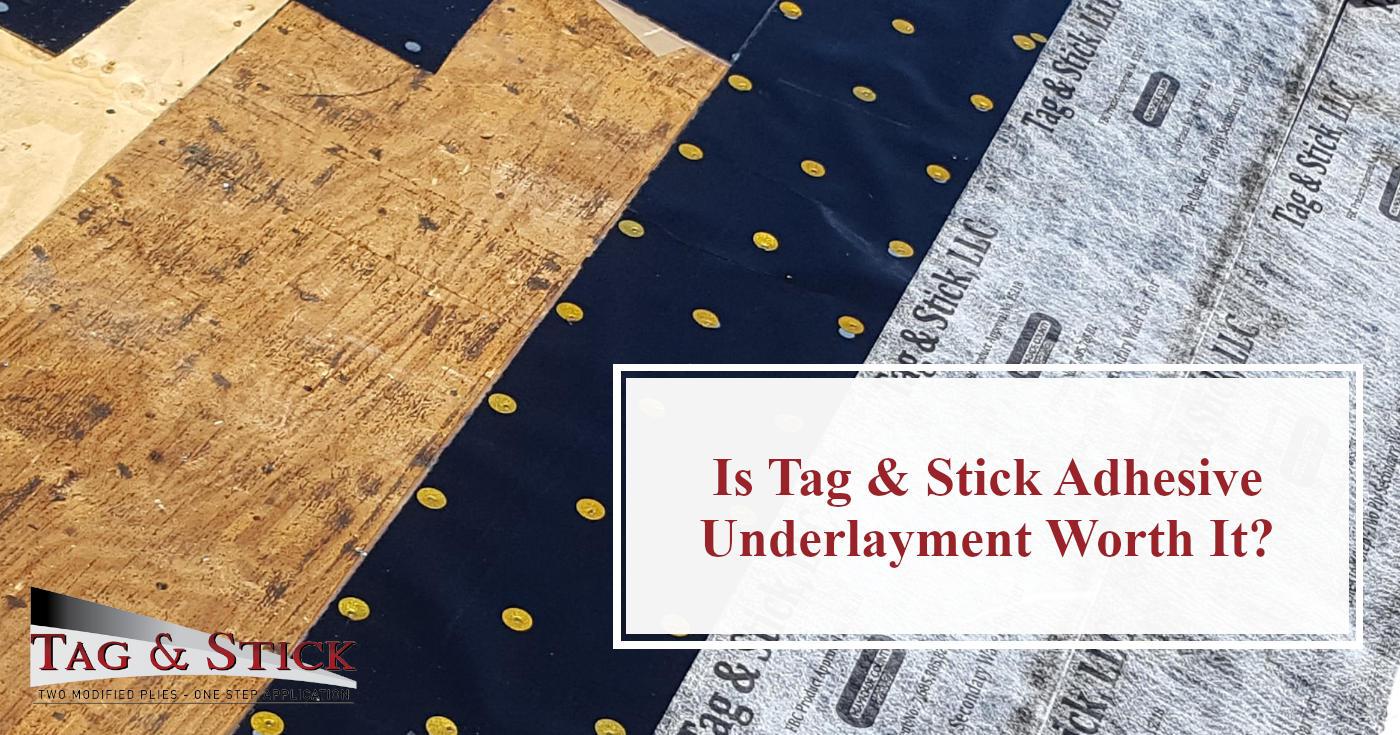 Tag & Stick Adhesive Underlayment