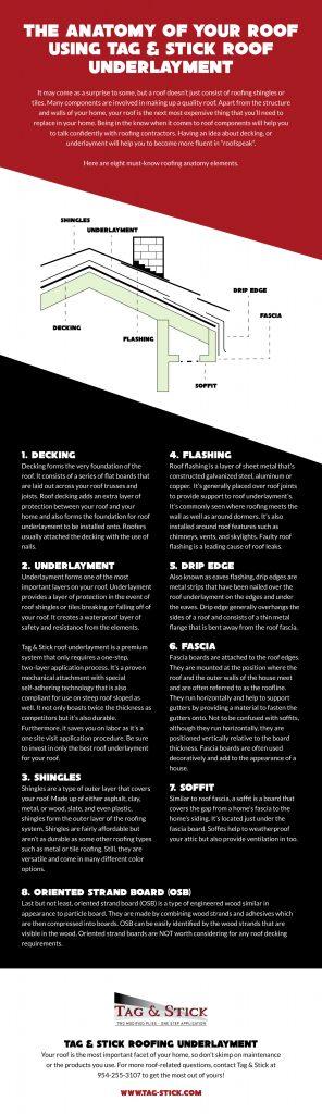 Anatomy of Roof Underlayment (Infographic)