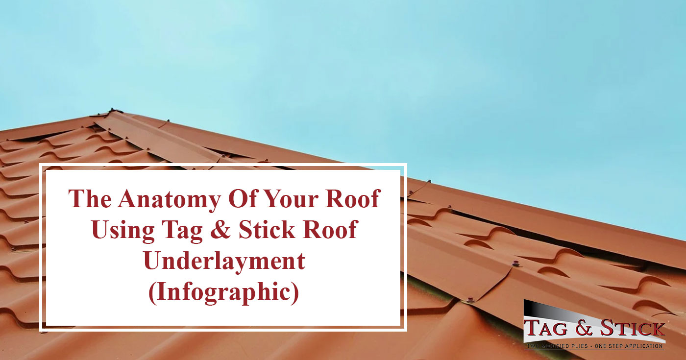 Tag & Stick Roof Underlayment