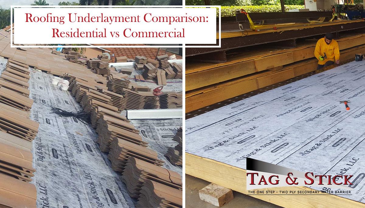 roofing underlayment comparison
