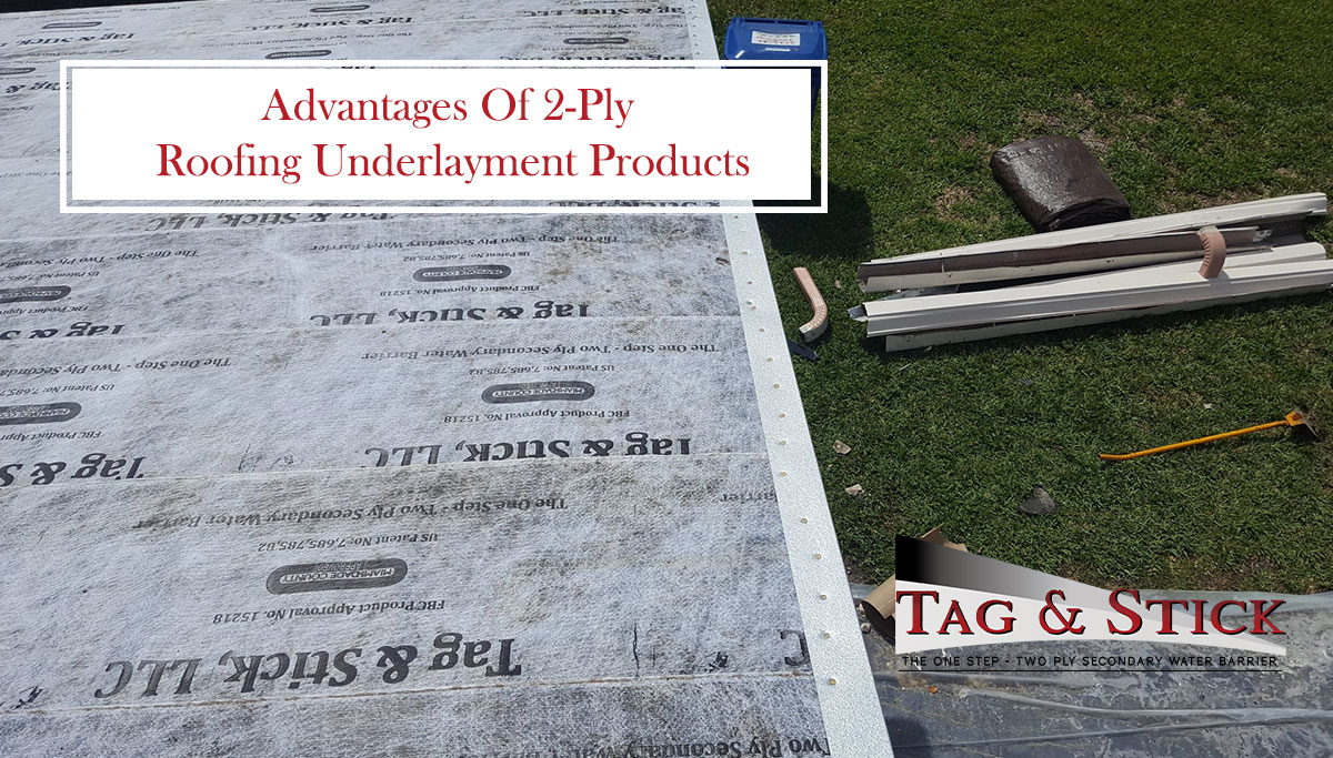 roofing underlayment products